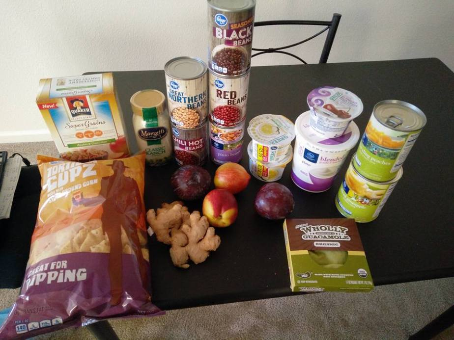 $120 Aldi, Walmart and Kroger Grocery Haul